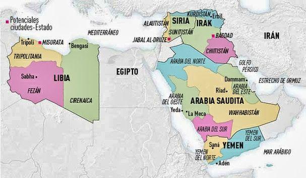 Medio Oriente Contemporneo El futuro mapa de Oriente Medio 5