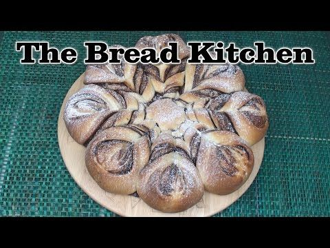NUTELLA BRAIDED TEAR AND SHARE BREAD ♥ BlumenBrot - YouTube