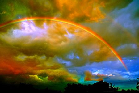 Lovely To See Paul Kramer Considers Nature S Stage Rainbow Sky Rainbow Wallpaper Rainbow Pictures