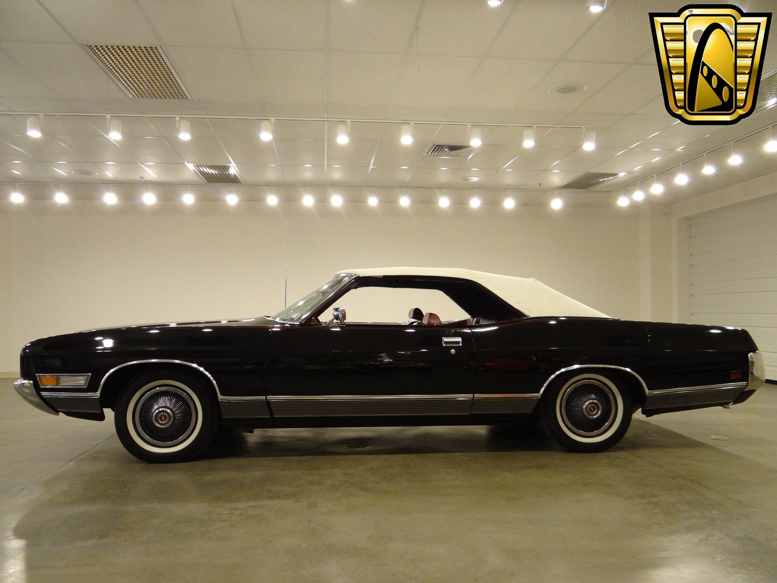 Gateway classic cars 1972 ford ltd convertible ford