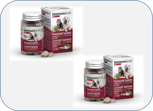 Immunovet Chewable Tablets Cats Dogs 120 Capsules Veterinary Equivalent Avemar Ad Spon Cats Amp Tablets Chicken Flavors Dry Dog Food Digestion Aid