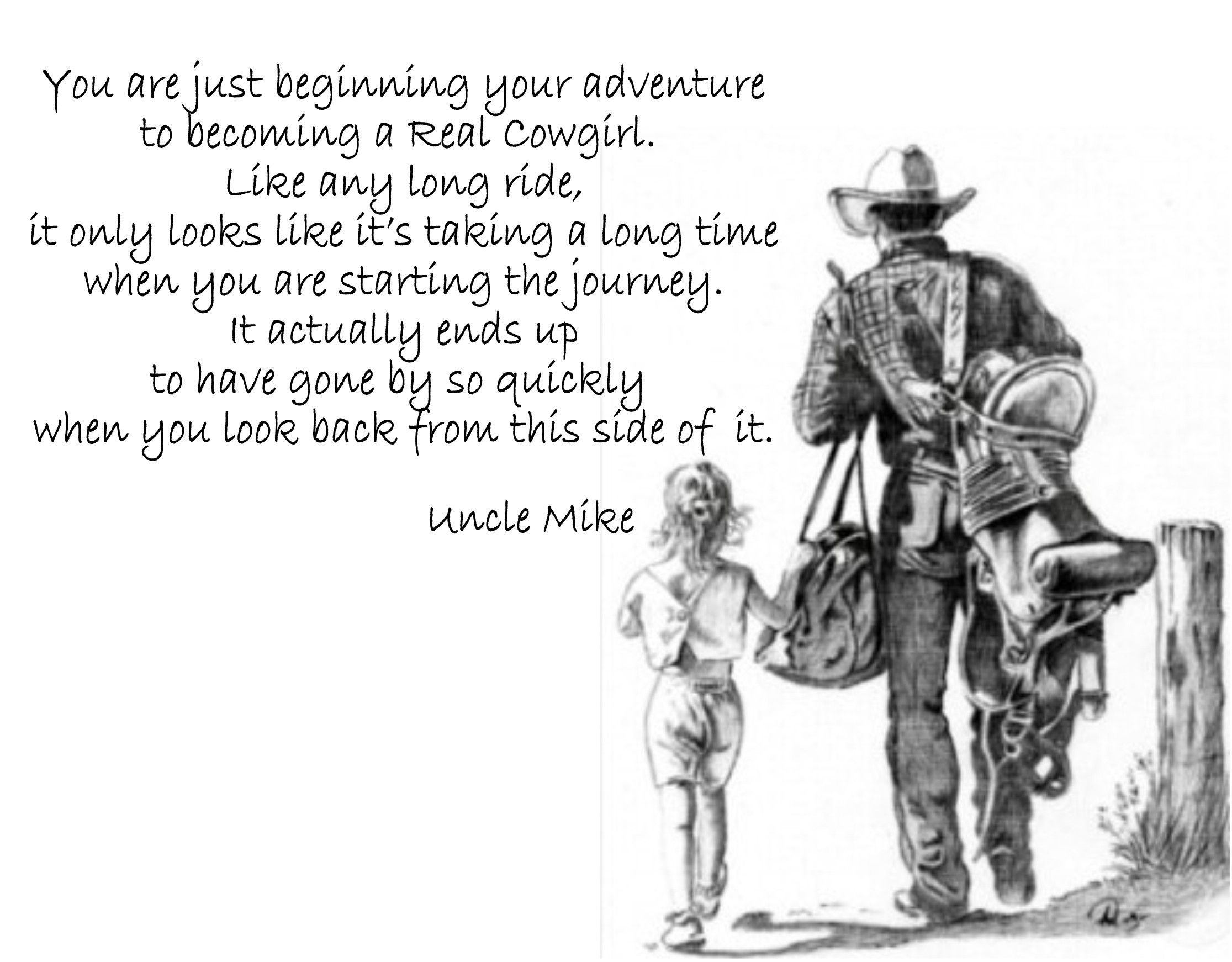 Little Cowgirl Sayings And Quotes Quotesgram