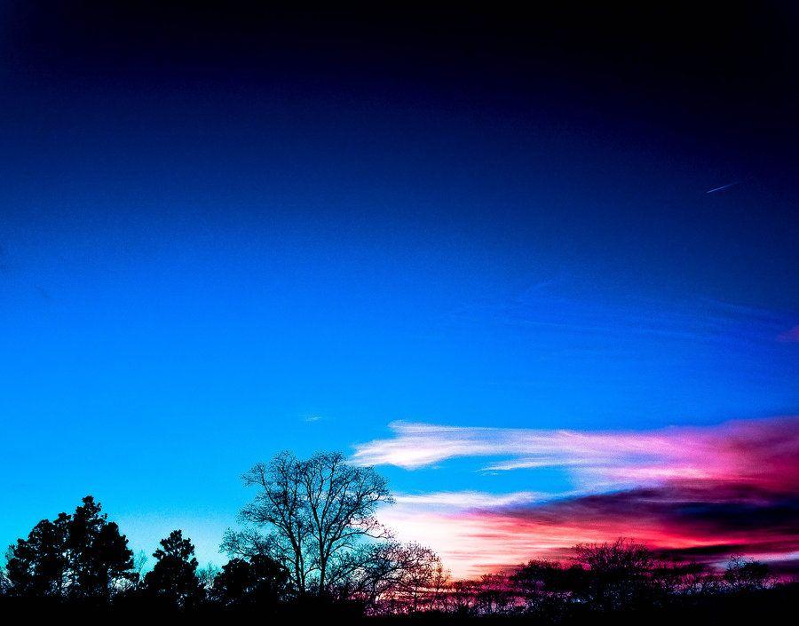 Wintry Sunset by NovaHeroi on DeviantArt