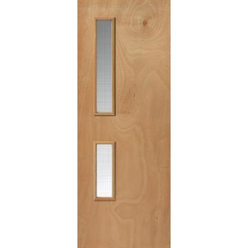 Pin Op Glazed Fire Doors
