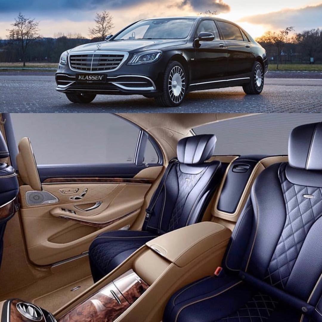 Mercedes Benz Brown And Lack Custom Interior Diamond Stitch