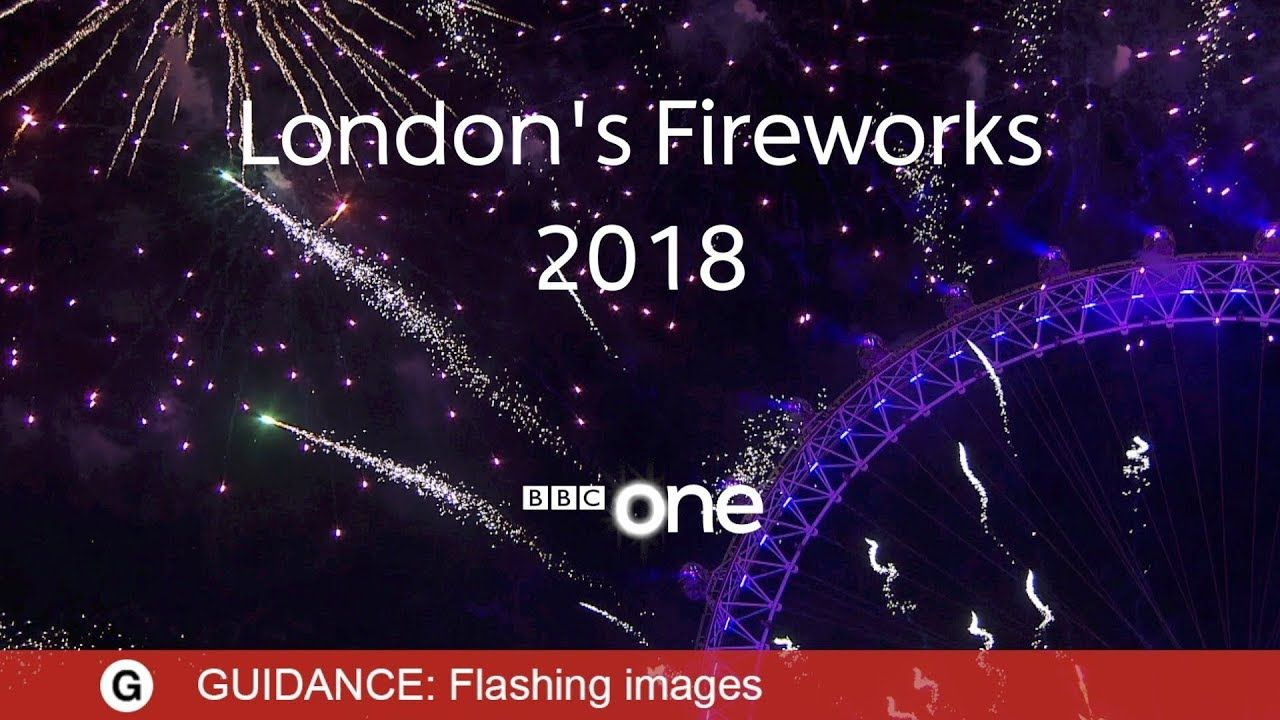 London Fireworks 2018 LIVE New Year's Eve Fireworks