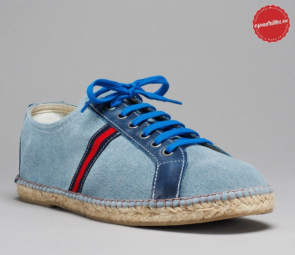 Blue Basket - Espadrille shoe - Men