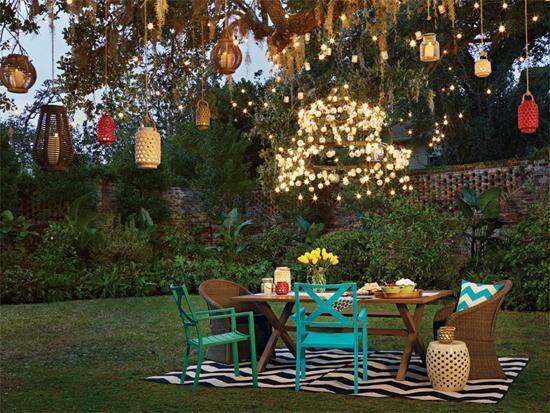 10 magnifiques fa ons d 39 clairer votre terrasse for Luminaire exterieur terrasse