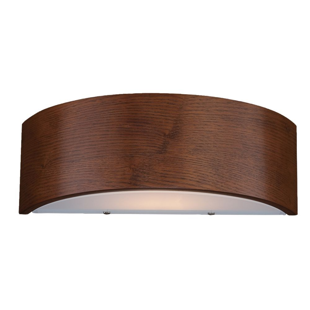 Dervish Collection 1-Light Mahogany Wall Sconce