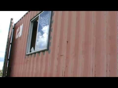 Shipping containers, 40 ft, options, BOL, retreat, some basic information Part 2 - YouTube