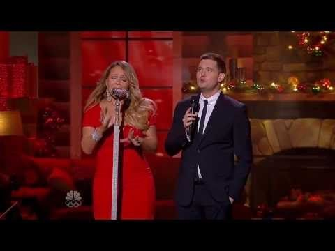 Mariah Carey Michael Buble All I Want For Christmas Is You Christmas Live 2013 Youtube Michael Buble Mariah Carey Mariah