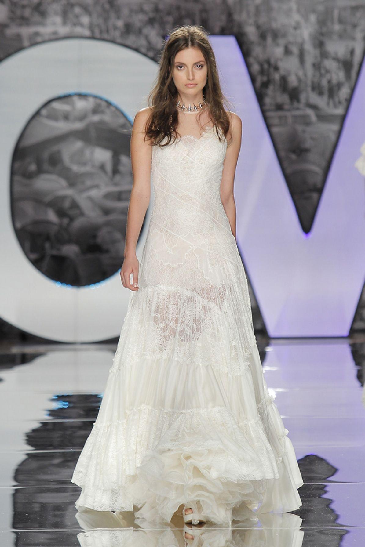 Encina Boho Wedding Dresses Romantic Bride High Fashion Custom Made: Art Made Wedding Dresses At Reisefeber.org