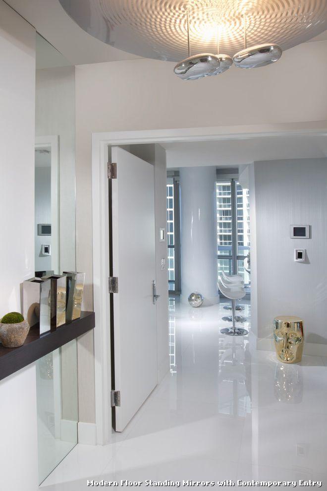 Modern Floor Standing Mirrors | Tablecloth | Pinterest | Floor ...