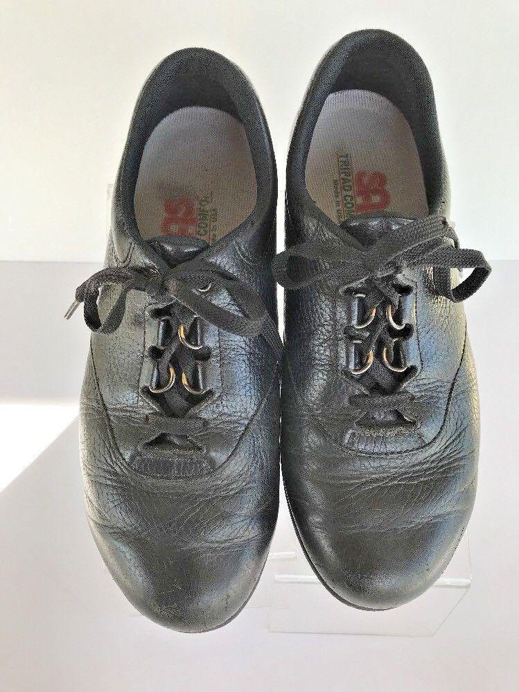 ef4e2868e4a SAS 8.5 W Wide Black Laced Orthopedic Comfort Shoe USA Tripad Insoles