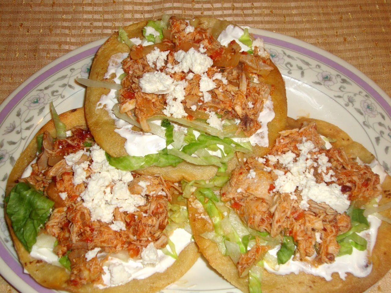 Receta de tinga de pollo - Comida mexicana
