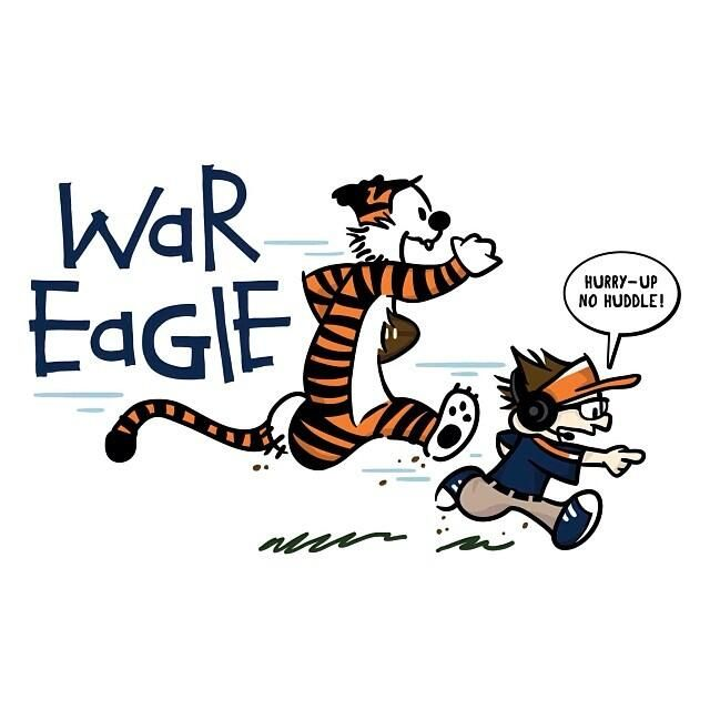 calvin and hobbes as aubie and gus jane says war eagle pinterest rh pinterest com Gus On the Bus to Pasadena Gus Malzahn Bus