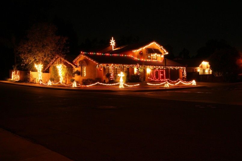 Decorating Front Yard Ideas Pictures Large Outdoor Christmas Decor