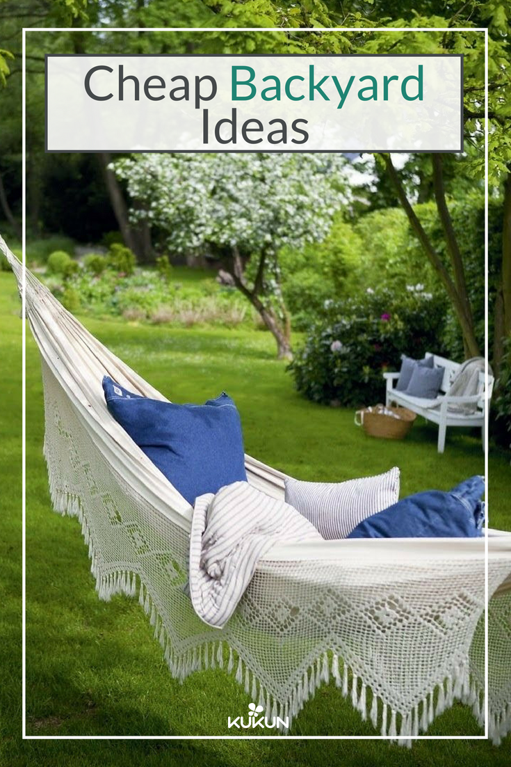 12 Easy Practical And Affordable Ideas For That Perfect Backyard Makeover Backyard Hammock Outdoor Hammock