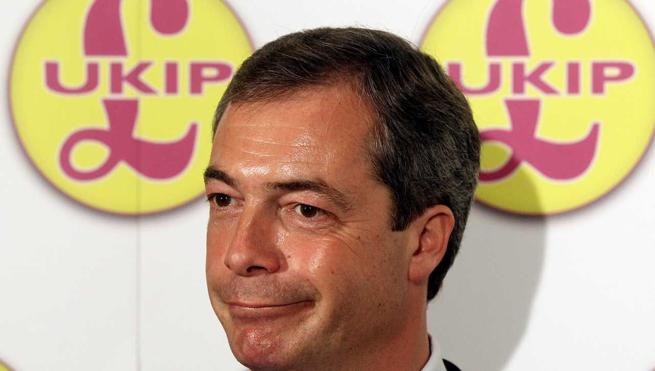 Nigel Farage has announced his resignation as leader of UKIP slightly earlier than usual this year.