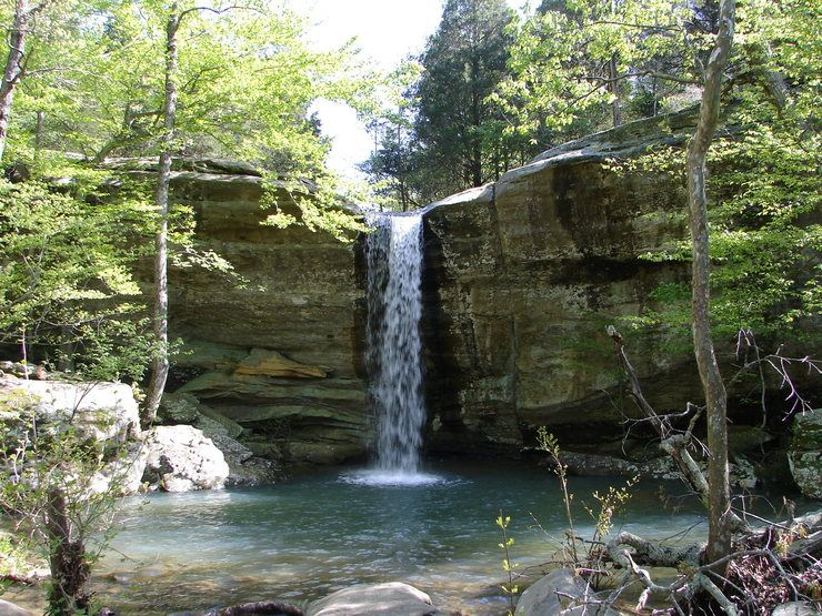 This Is Jackson Falls It S Only 2 Hours West Of Evansville In The