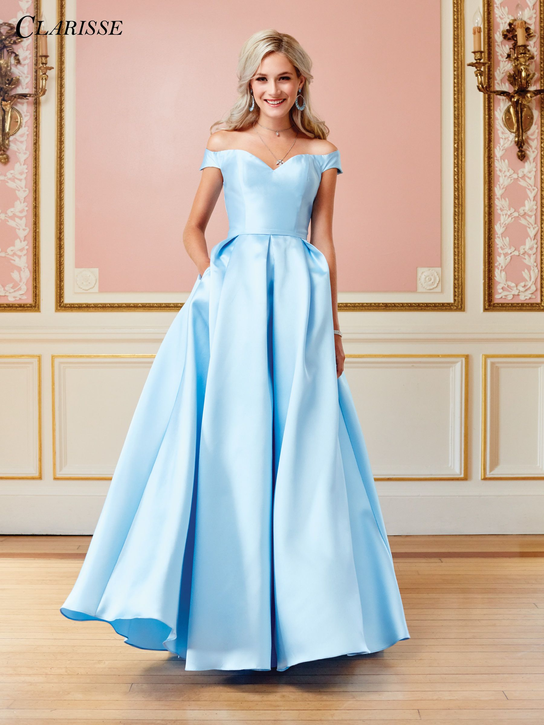 Clarisse Prom 2018 dress 3442. This gorgeous off the shoulder ...
