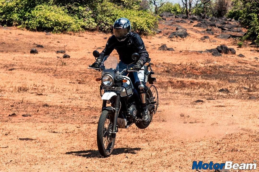 Playing Around With The Royalenfield Himalayan Motorbeam