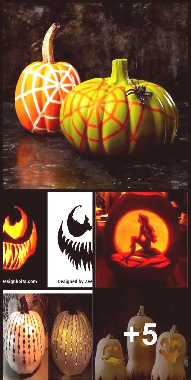 5 Free Venom & Scary Halloween Pumpkin Carving Stencils,...