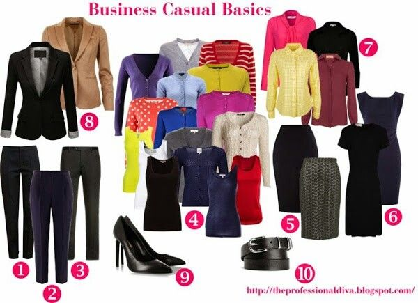 cdd5f7761a43 Business casual basics Business Casual Attire