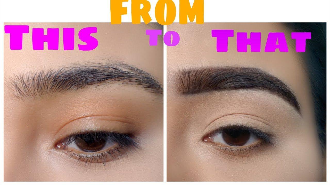 Eyebrow Filling 101 I Eyebrow Tutorial I Makeup Junkiee
