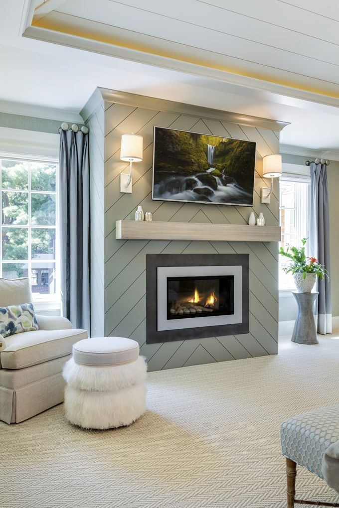 45 Cool Electric Fireplace Designs Ideas For Living Room #modernfireplaceideas