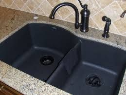 How To Keep Your Black Granite Sink Clean And Add The Shine Again.