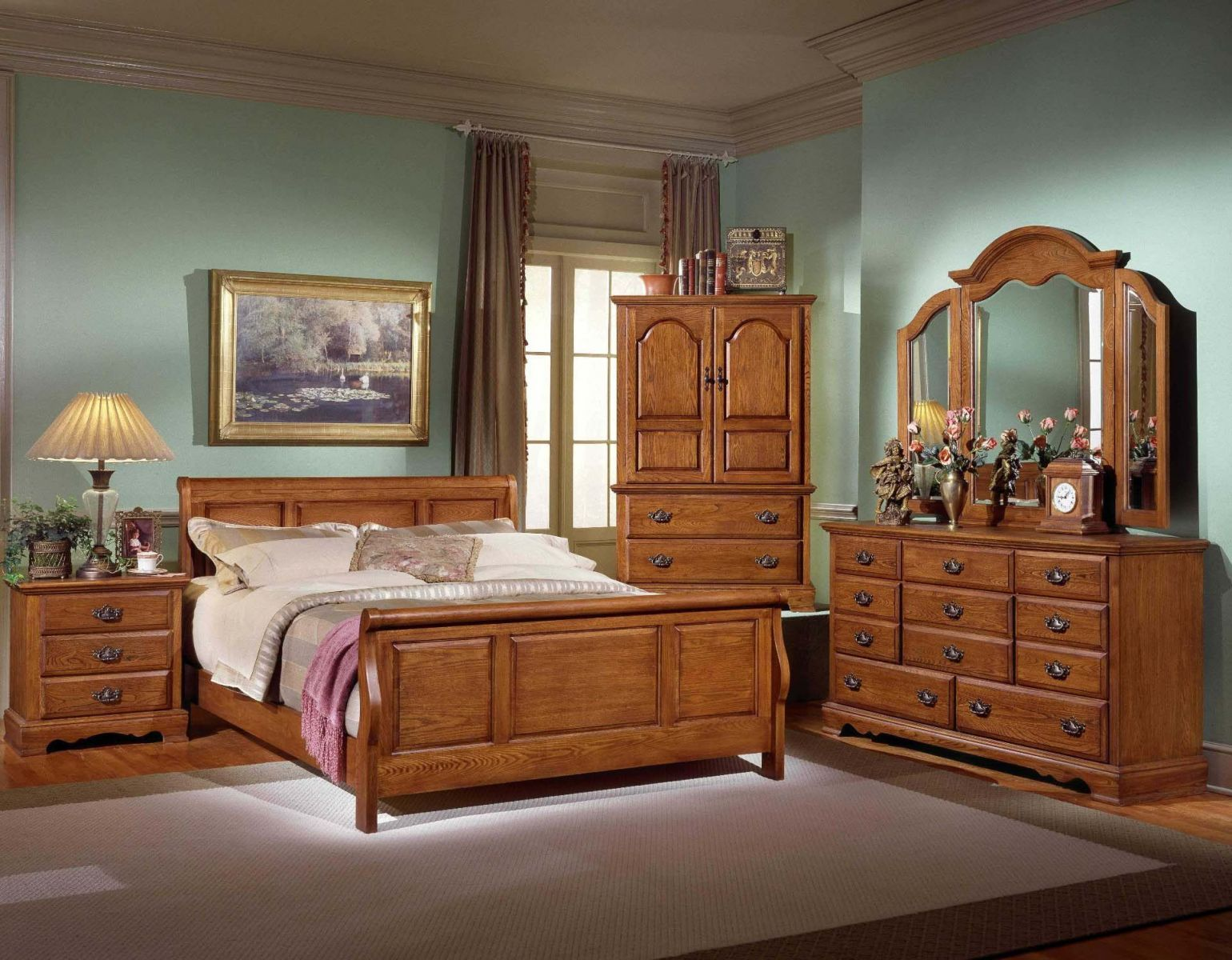 Cool Vintage Luxury Wood Bed Room Hd Architecture And Interior Interior Design Ideas Ghosoteloinfo