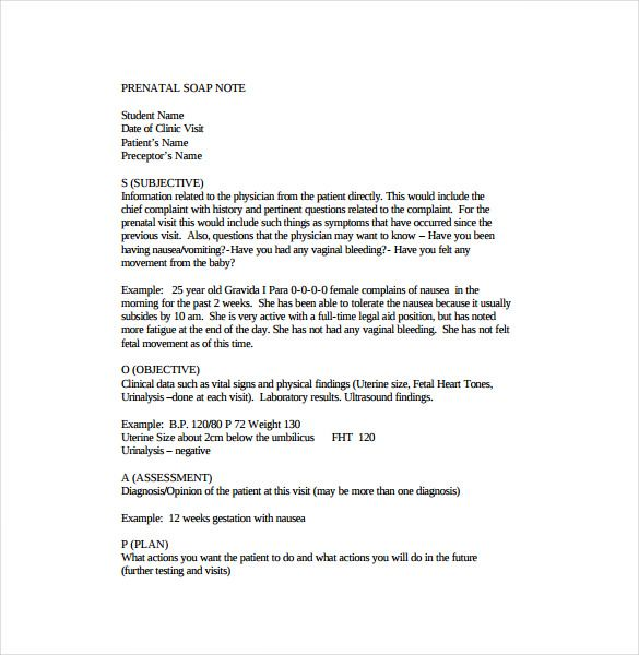 pregnancy soap note - Isken kaptanband co