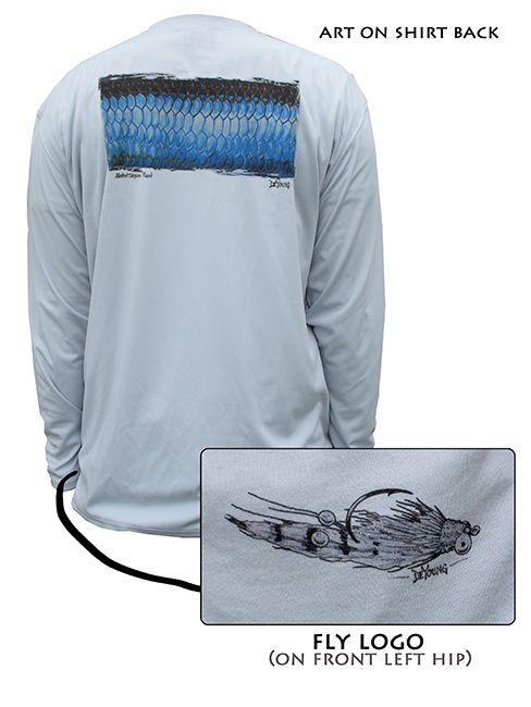 Men 39 s tarpon uv protective shirt for Uv protection fishing shirts