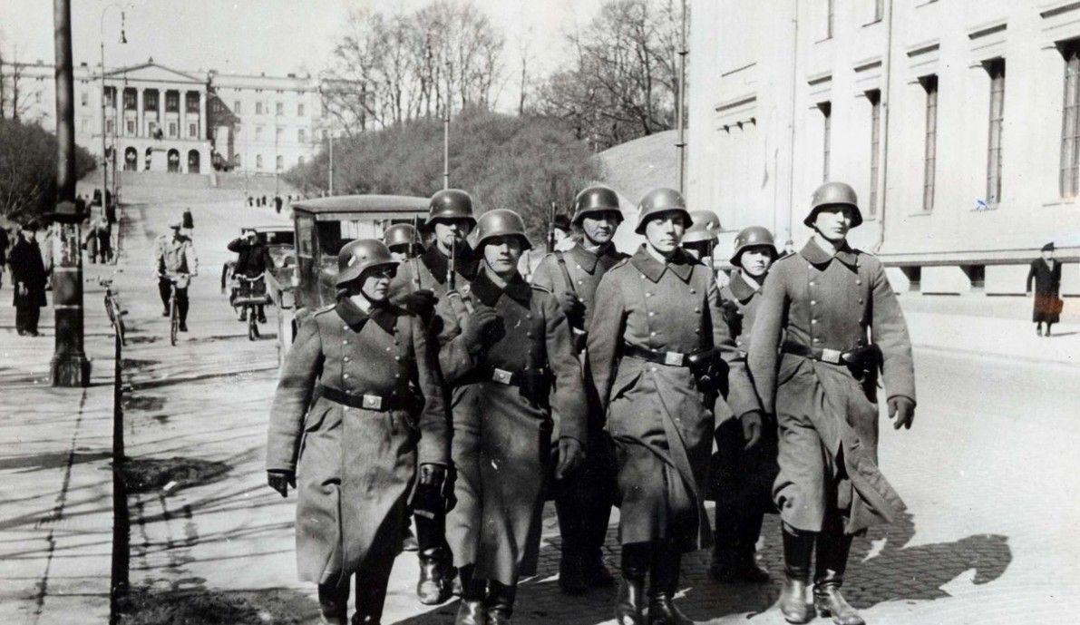 Image result for nazis in oslo