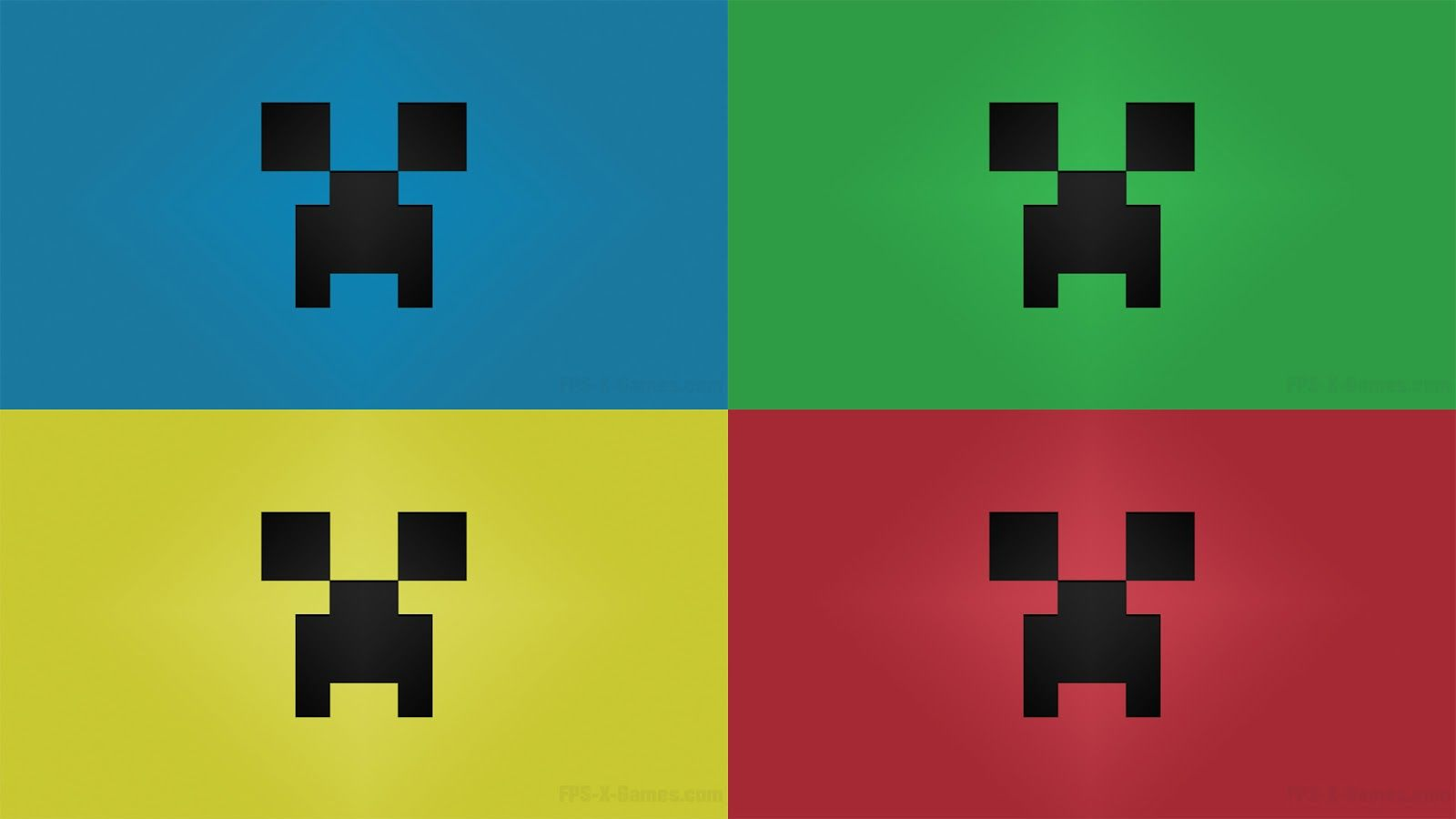 Primary Color Minecraft Desktop Creeper Wallpaper 1920 X 1080 Pixels Minecraft Wallpaper Creeper Minecraft Minecraft Pixel Art