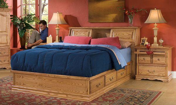 15 Oak Bedroom Furniture Sets | Home Design Lover
