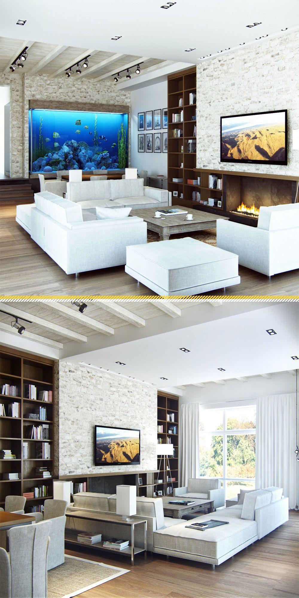 Soggiorni moderni 100 idee e stile per il soggiorno for Soggiorno e salotto
