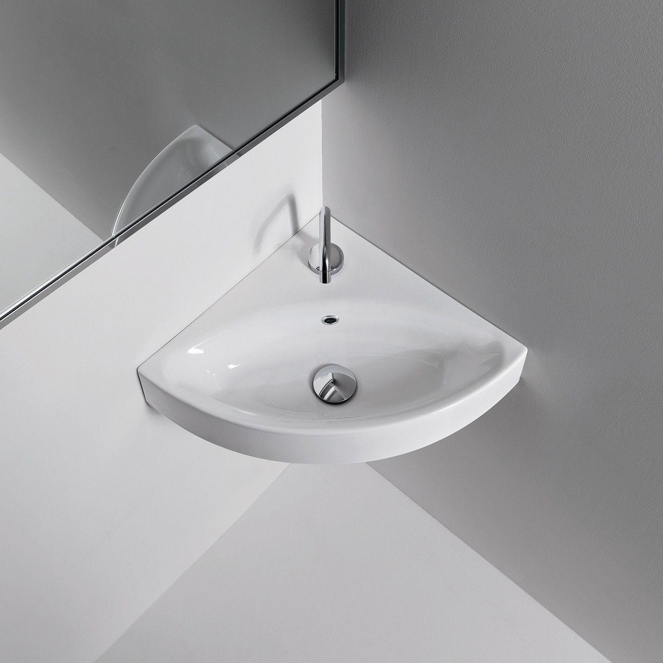 Found It At Wayfair   Kerasan Cento Wall Mounted / Vessel Bathroom Corner  Sink