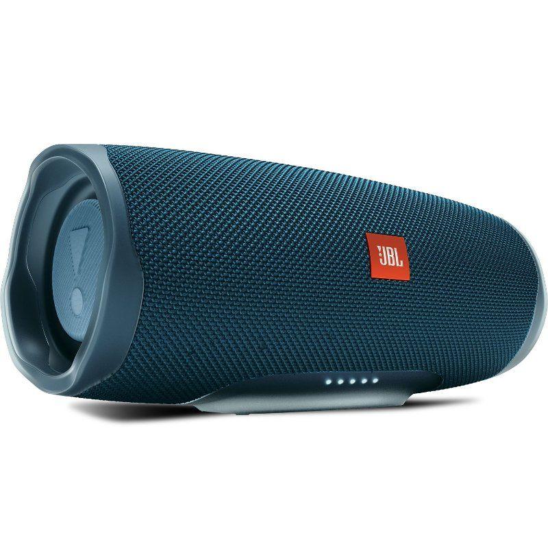 Jbl Charge 4 Waterproof Bluetooth Speaker Blue Bluetooth Speaker Waterproof Bluetooth Speaker Bluetooth Speakers Portable