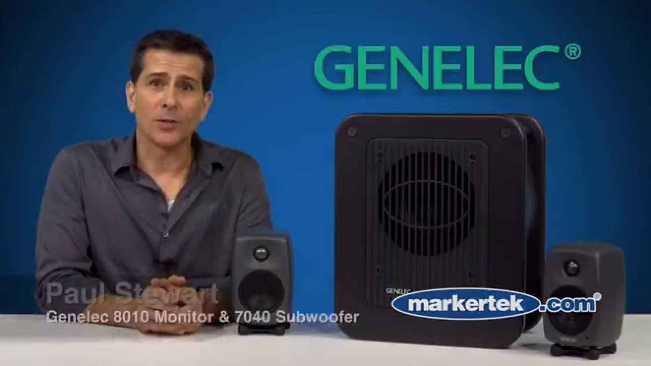 Genelec 8010 Active Monitor The New 7040 Subwoofer Subwoofer Graphic Card Monitor