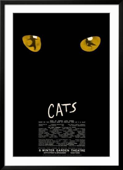 Cats Broadway Prints Broadway Posters Winter Garden Theatre