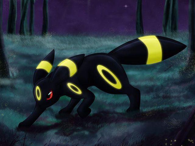 I got: Umbreon! Which Eevee evolution from Pokemon are you?