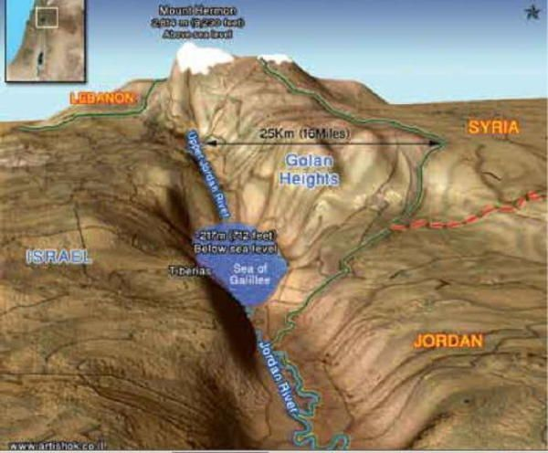 Maps of Sea of Galilee | Israel, Israel history, Bible mapping Topographical Map Of Gailee on