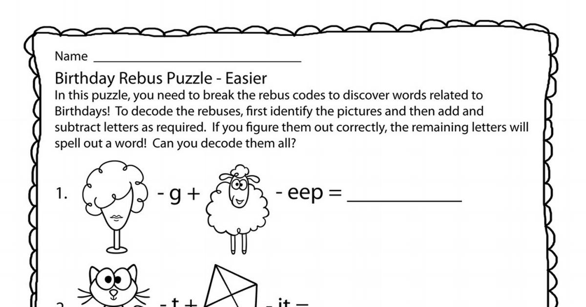 ThePuzzleDen_BirthdayRebuses.pdf (With images) Rebus