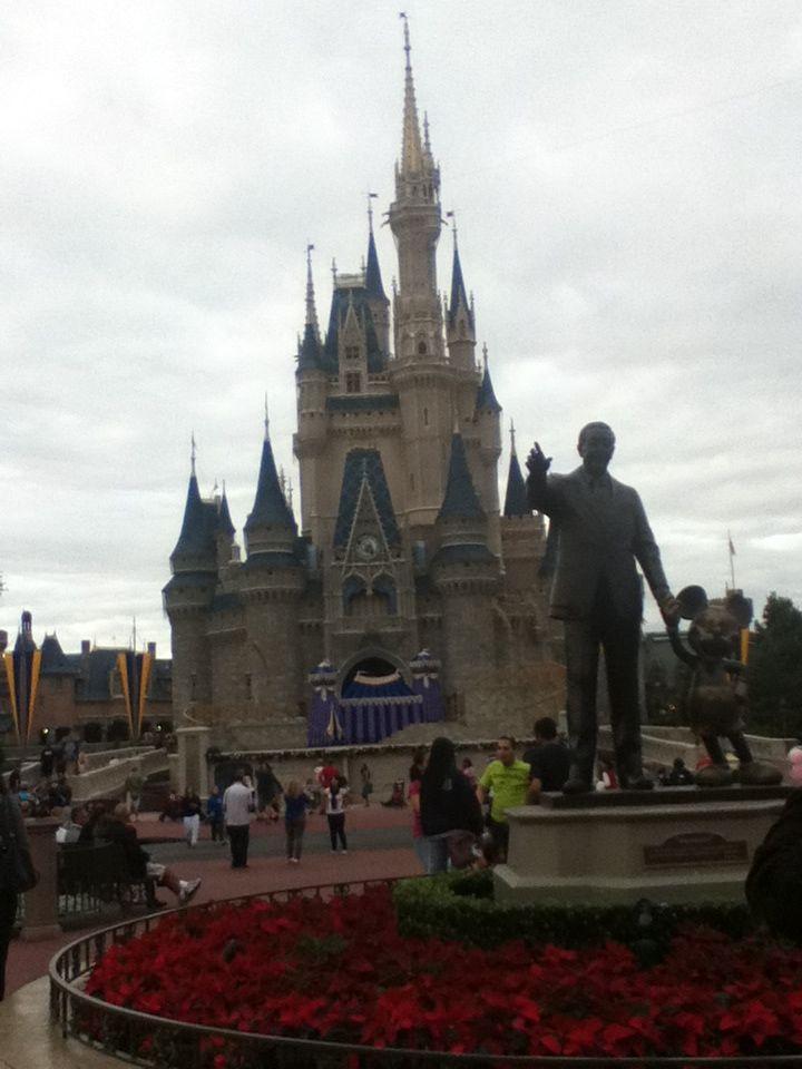 Walt Disney & Mickey Mouse. December 15, 2013 :)