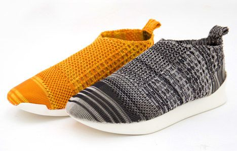 These Kicks Made From Polymer Yarn are Completely Recyclable #shoes trendhunter.com
