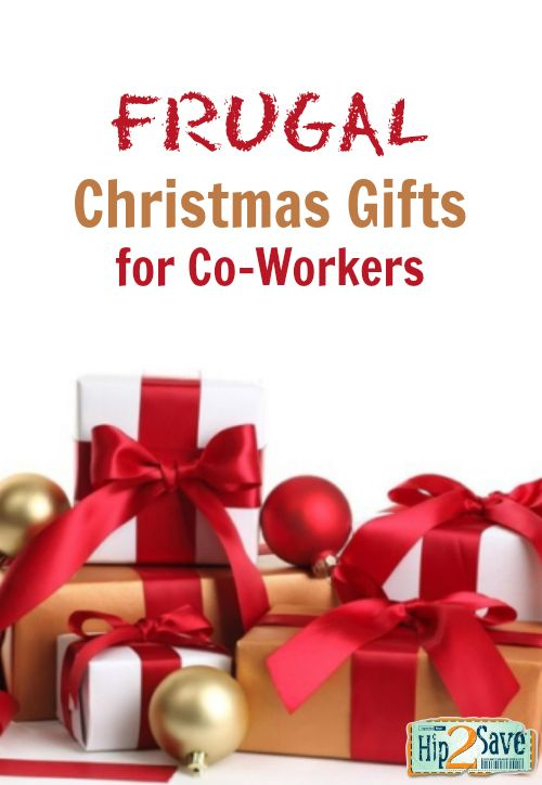 Frugal Christmas Gift Ideas Needed for Co-Workers | Christmas and ...