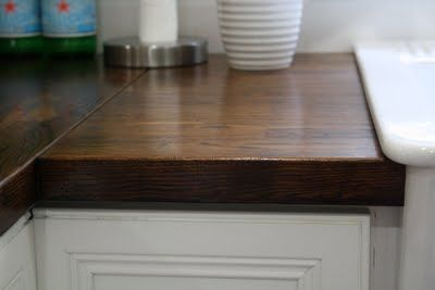 How To Stain Butcher Block Countertops Butcher Block Countertops