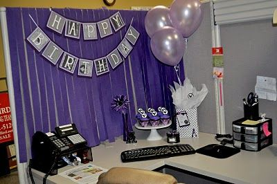 PURPLE BIRTHDAY IN A CUBICLE Theautocrathaleyblogspot